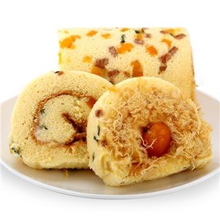 Nhóm Mua - Banh bong lan cuon trung muoi thap cam (16cm) - Sam's Bakery