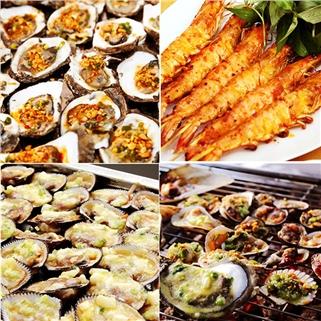 Nhóm Mua - Buffet toi BBQ bo My, hai san - Nha hang Flame