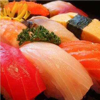 Nhóm Mua - Buffet Nhat sushi, tempura, lau hon 40 mon tai Kirin (AD le)