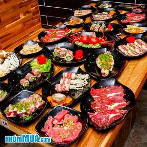 Buffet tối bò Mỹ, hải sản, lẩu và free kem tại Hongkong Town