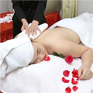 Nhóm Mua - Massage body/tri tham/paraffin chan/tam duong-Hoang Cung Spa