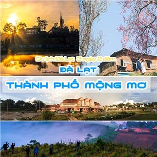 Nhóm Mua - Tour Da Lat - Thac Datanla - Thien Duong Dat Set 3N2D
