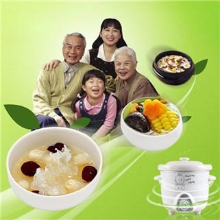 Nhóm Mua - Noi chung yen, nau chao da nang nap thuy tinh hieu Care 0,7L