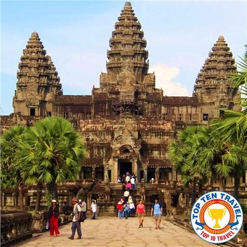 Tour Cambodia SiemRiep - PhnomPenh 4N3Đ