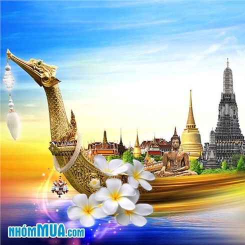 Tour Thái Lan - Bangkok - Pattaya - Baiyoke Sky - Buffet 5N4Đ