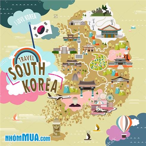 Tour Hàn Quốc 5N4Đ - khám phá Seoul - đảo Nami - Everland
