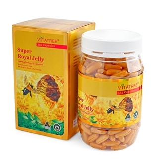 Nhóm Mua - Vien uong sua ong chua Super Royal Jelly