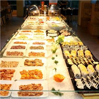 Nhóm Mua - Buffet lau, nuong, free nuoc tai Nha hang Cheap Eats