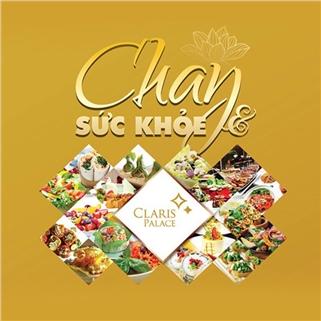 Nhóm Mua - Buffet chay hon 60 mon tai Claris Palace