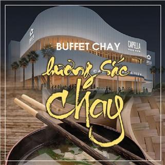 """Nhóm Mua - Buffet chay toi mua Vu Lan - Capella, chu de """"Huong sac chay"""""""