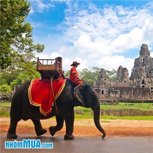 Tour Campuchia - Angkor - Phnom PEnh - lẩu băng chuyền 4N3Đ