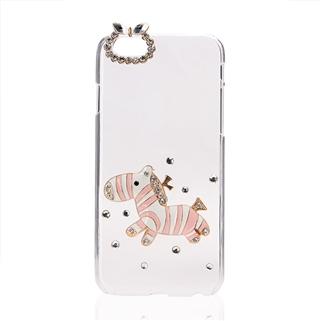 Nhóm Mua - Op lung dinh hat cao cap hinh ngua trang hong - iPhone 6/6s