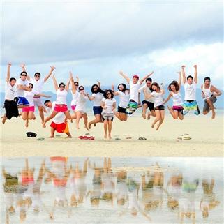 Nhóm Mua - Tour kham pha Sheep's Paradise - Teambuiding tren bien Ho Coc