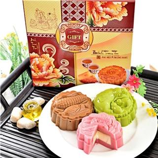 Nhóm Mua - Banh Trung Thu Rau Cau Nhan Banh Flan 350g - Lemonshop