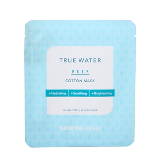 Nhóm Mua - Mat na duong am True Water Deep Cotton Mask