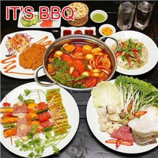 Nhóm Mua - Set an 05 mon danh cho 02 nguoi tai Nha Hang It's BBQ
