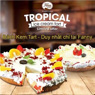 Nhóm Mua - Banh Tropical Ice-Cream Tart sieu ngon tai He Thong Kem Fanny