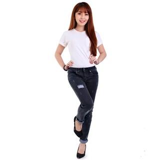 Nhóm Mua - Quan jeans nu CQ801 xuat khau den