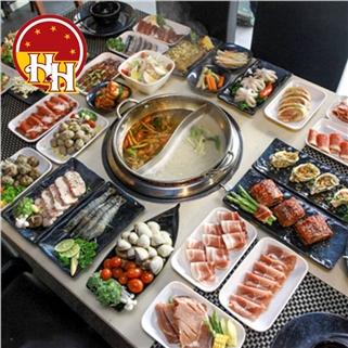 Nhóm Mua - Hap Dan Voi Buffet Lau, Tang Kem Mon Nuong Tai Seoul BBQ