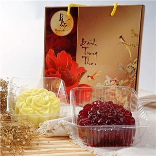 Nhóm Mua - Banh Trung Thu rau cau sau rieng/chocolate - Lemon Shop