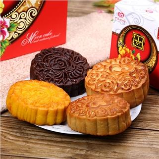 Nhóm Mua - Hop 04 banh Phuoc Lanh Phu Quy (2 trung) - Maxim's Bakery