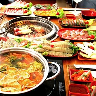Nhóm Mua - Buffet nuong va lau tai Nha hang F3 BBQ