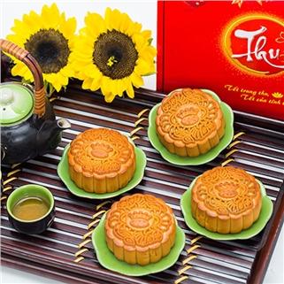 Nhóm Mua - Hop 04 Banh Trung Thu Kinh Do 01 Trung (150gr - 180gr/Banh)