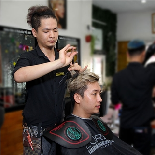 Nhóm Mua - Uon/Duoi/Nhuom/Bam toc + cat + goi + say tai Salon Vu Anh
