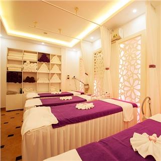 Nhóm Mua - Massage da nong 80 phut + xong hoi khong gioi han – Helen Spa