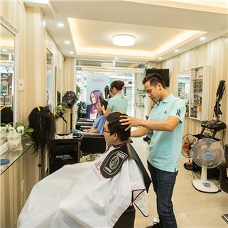 Nhóm Mua - Tron goi 1 trong 4 dich vu lam toc tai Salon Dung Vinh Hoang