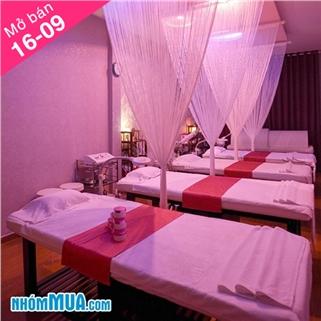 Nhóm Mua - Massage body voi tinh dau/ da nong/ thao duoc tai Anna Belle