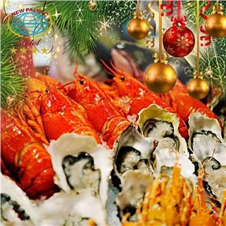 Nhóm Mua - Tiec buffet Noel va Tet Tay hoanh trang tai New Pacific