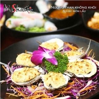 Nhóm Mua - Buffet nuong Nhat Han menu moi nhat tai NH Mishagi tang nuoc