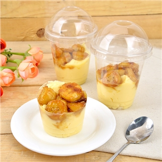 Nhóm Mua - 3 banh Pudding sua dua chuoi sot caramel - SaiGon Love Baking