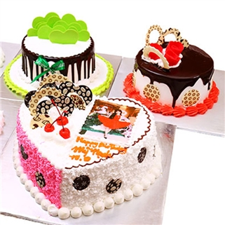 Nhóm Mua - Banh kem in hinh theo yeu cau size 20x8 cm - K'thy Cupcake