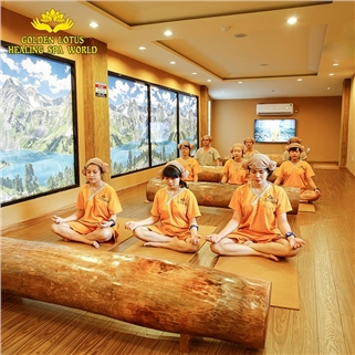 "Q.3 - ""Jjim Jil Bang"" - Morning tại Golden Lotus Healing Spa"