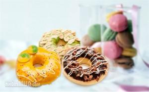 BIM DONUT- 06 bánh donut lớn Giá 50000đ - 3 - Cafe