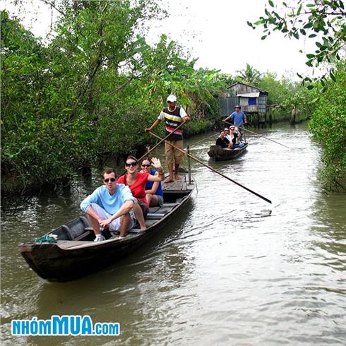 Khám phá sông nước Miền Tây - tát mương bắt cá - CN hàng tuần