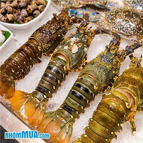 Buffet tối hải sản, tôm hùm đẳng cấp - Nhà Hàng The Grill