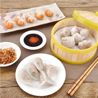 Nhóm Mua - Ha cao va nuoc uong cho 2 nguoi - Dimsum Homemade (giao hang)