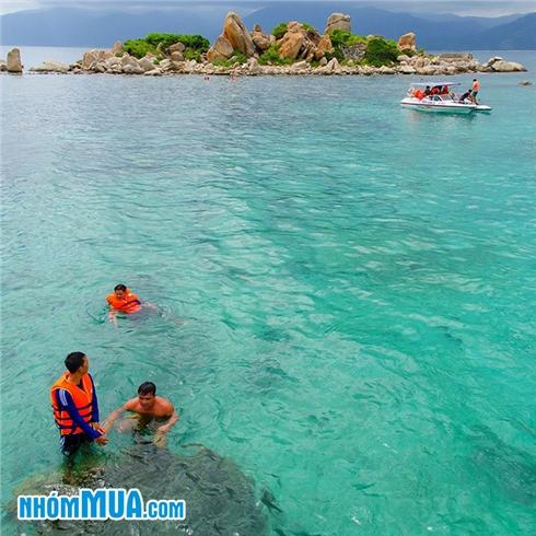 Tour Bình Ba - Đảo Tôm Hùm - Ngắm san hô - Party night 3N2Đ