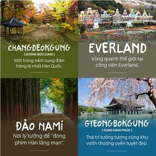 Nhóm Mua - Tour xu so kim chi- Han Quoc- Seoul- Nami- Everland 5 Ngay