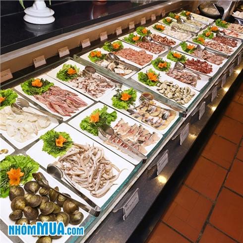 Buffet nướng và free đồ uống tại NH Lẩu Hội Quán Time City