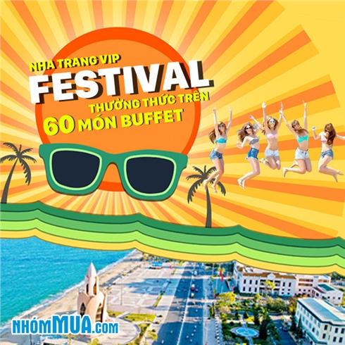 Tour Nha Trang-Festival biển-Buffet hải sản thịt nướng - 3N3Đ