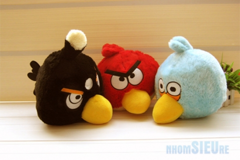 Thú nhồi bông Angry Birds