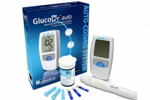 Máy đo đường huyết Gluco Dr Auto đạt tiêu chuẩn ISO quốc tế FDA Mỹ