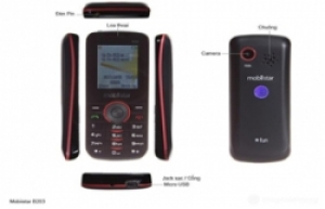 Điện thoại Mobiistar B203- 2 sim 2 sóng online: nhỏ gọn-độc đáo-tiện dụng