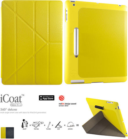 One More - Case Ozaki iCoat – iPad 2/3/4