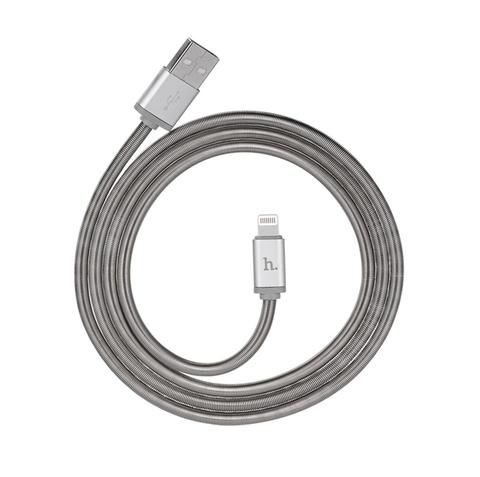 One More - Cable iPhone lo xo kim loai hoco U5