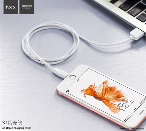 One More - Cable iPhone Hoco X1 (1m ,3m)
